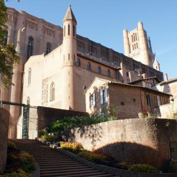 1401 Vue du palais de la Berbie
