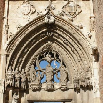 1420 Cathédrale tympan