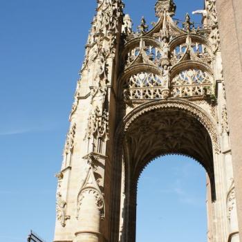 1421 Cathédrale porche d'entrée