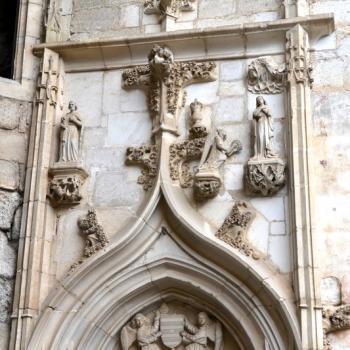 453 Porte de la chapelle Notre Dame