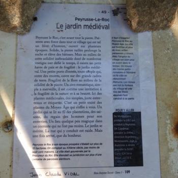 481 Jardin médiéval