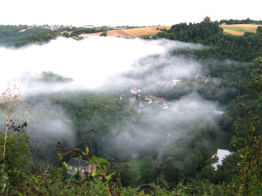 Brouillard sur le Pont de Cirou
