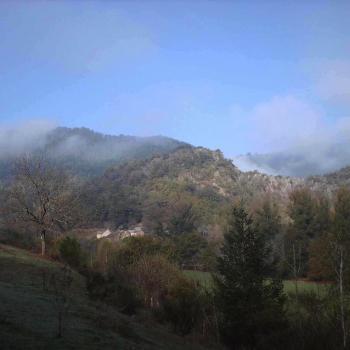 Brume matinale vers la Roque