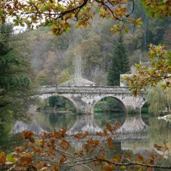 Le Pont de Cirou en automne