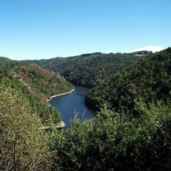 Le Viaur au barrage de Pampelonne