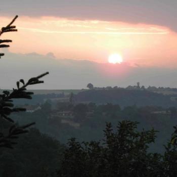Lever de soleil sur le Carrelié
