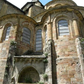 Abbatiale Saint-Foy, détail