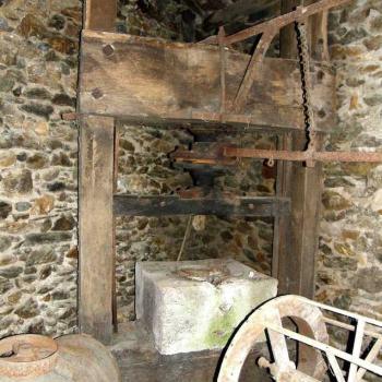 Pressoir du moulin de Bondouy